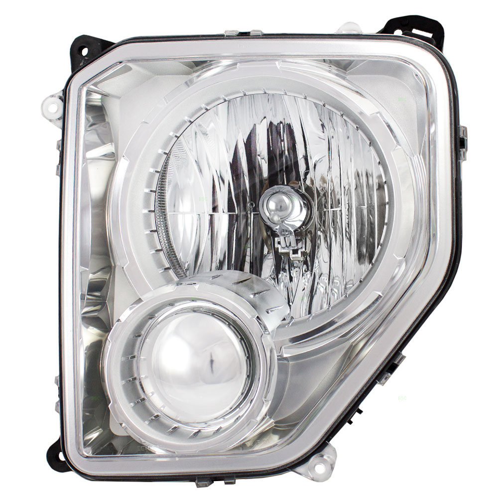 08-12 Jeep Liberty New Drivers Headlight