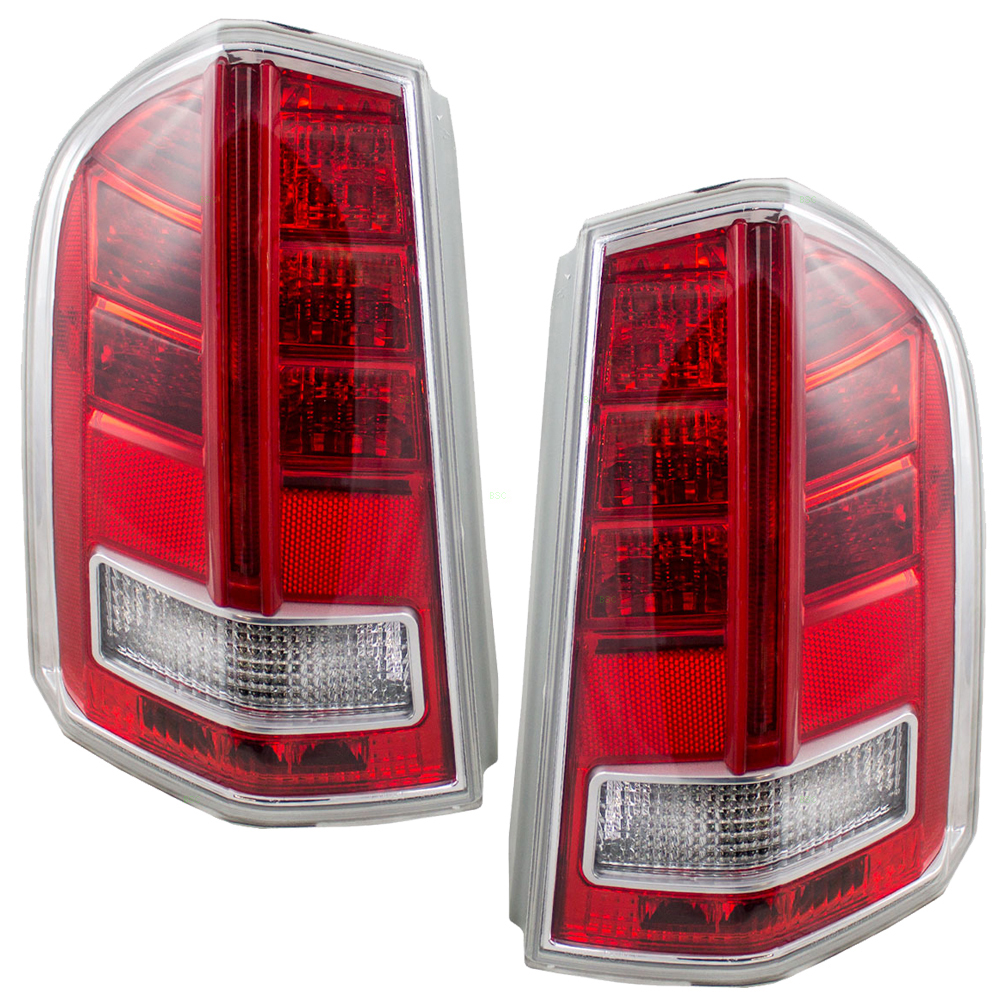 11-14 Chrysler 300 Set Of Taillights Tail Lamps Lenses