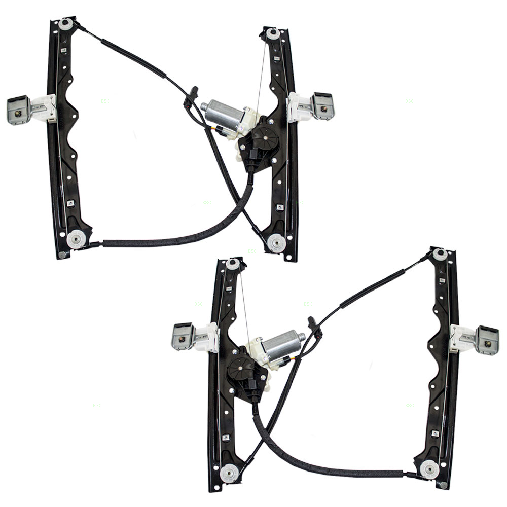 05 jeep grand cherokee new pair set front for 2002 jeep grand cherokee power window regulator