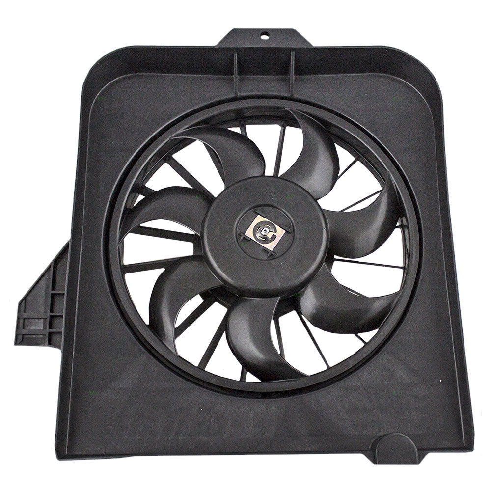 2007 Acura Rdx Cooling Fan Assembly Condenser Side: Chrysler Town & Country Voyager Dodge Caravan Grand