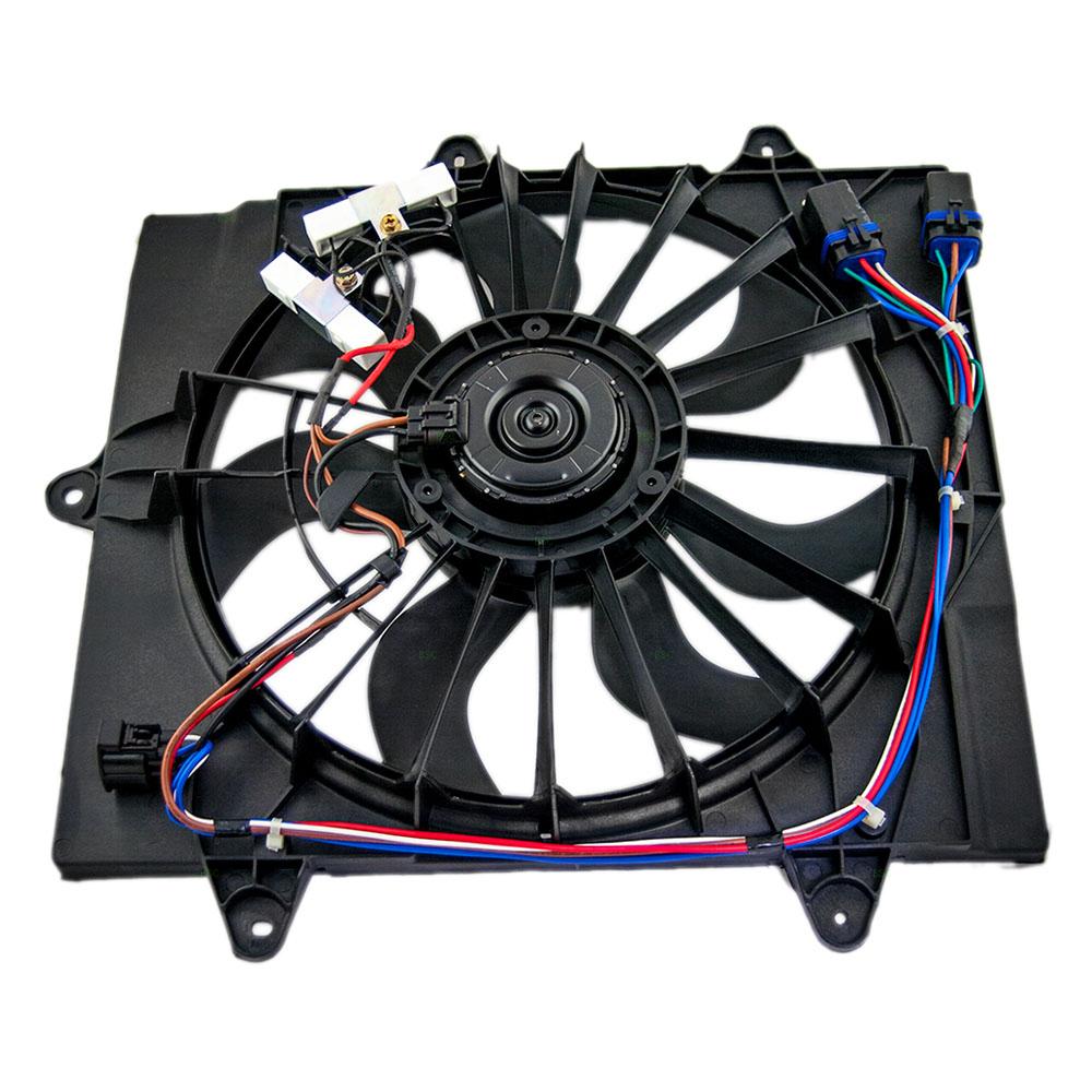 06 09 Chrysler Pt Cruiser Turbo Radiator Cooling Fan Motor Assembly