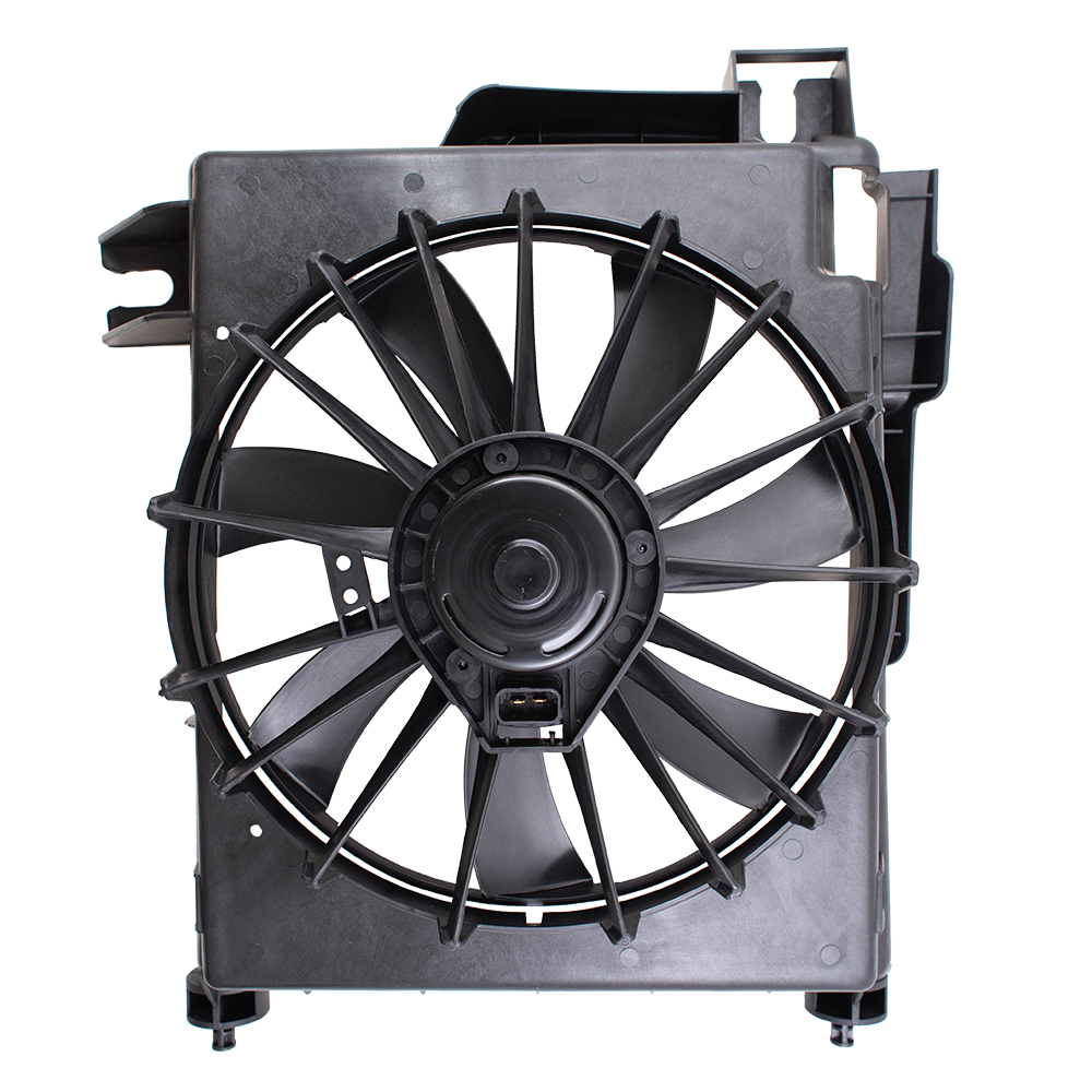 02 09 Dodge Pickup Truck Acura A C Condenser Cooling Fan Motor Assembly
