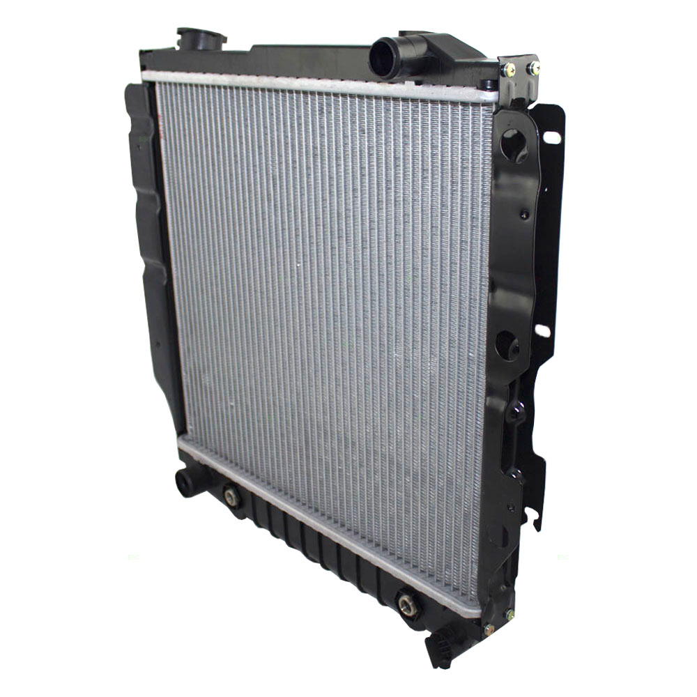 For Jeep Wrangler 2000 2006 Replace 2a34 Remanufactured: 97-06 Jeep Wrangler Radiator Assembly