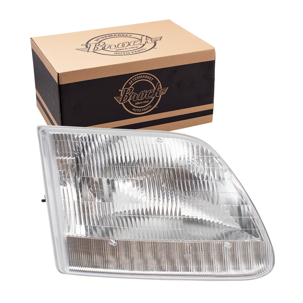 ford expedition f 150 f 250 pickup truck passengers headlight assembly. Black Bedroom Furniture Sets. Home Design Ideas