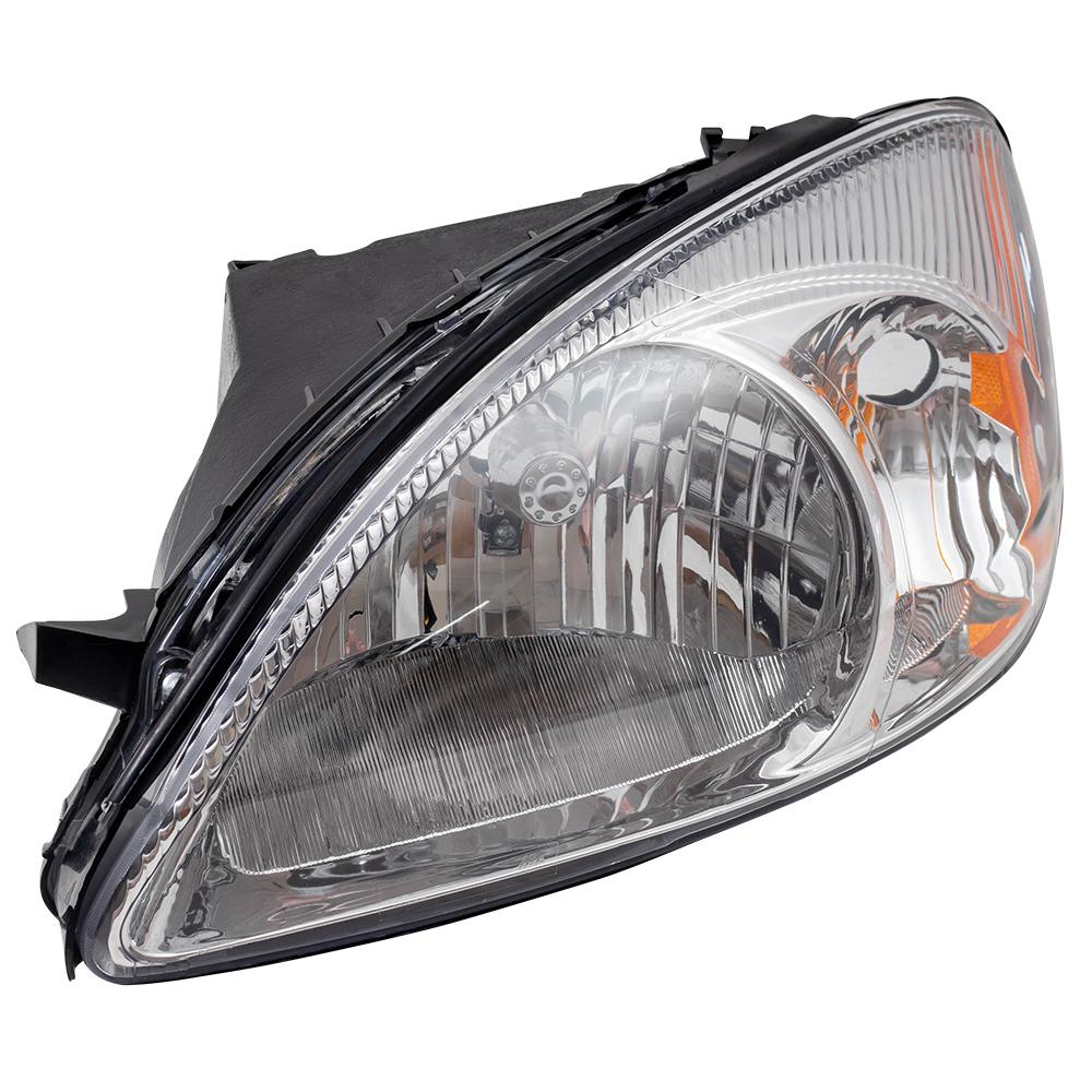 Ford Taurus Headlight Assembly : Ford taurus drivers headlight assembly chrome