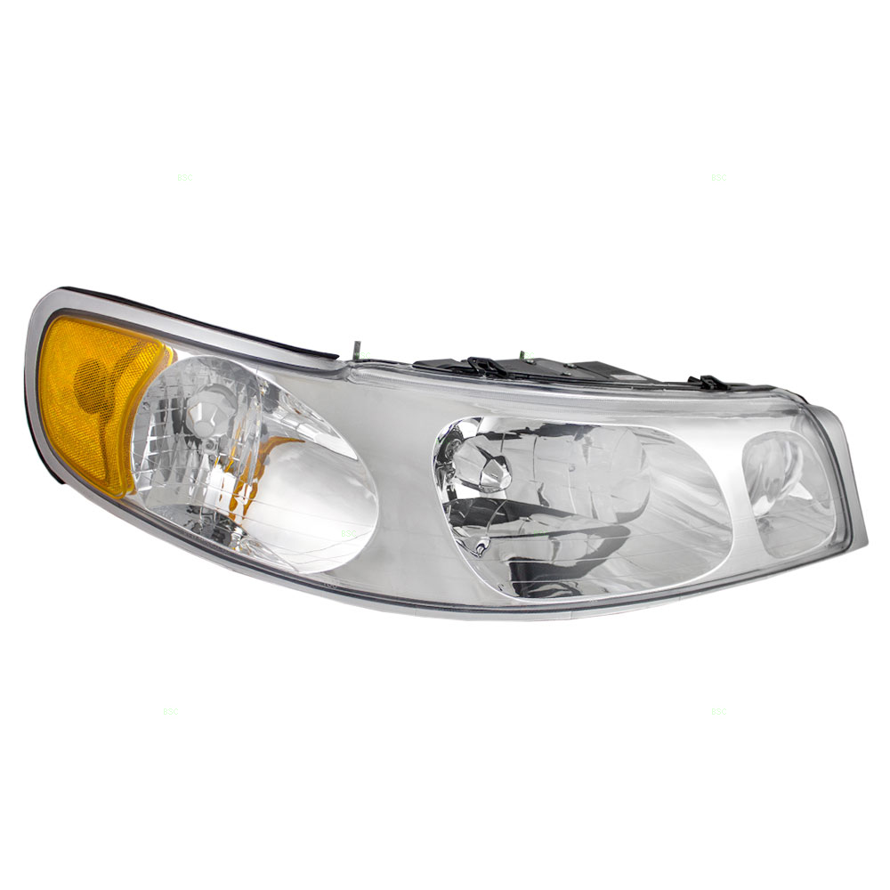 98 02 lincoln town car passengers headlight assembly. Black Bedroom Furniture Sets. Home Design Ideas