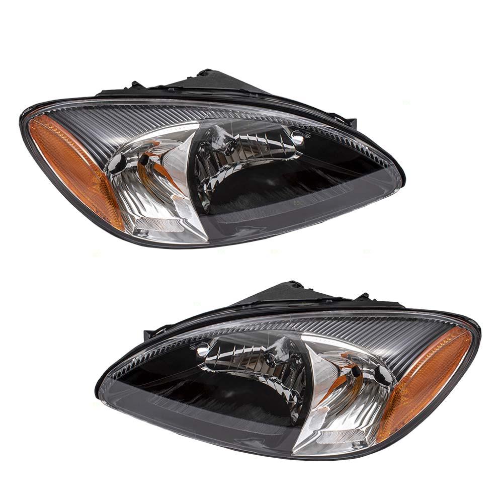 Ford Taurus Headlight Assembly : Autoandart ford taurus new pair set halogen