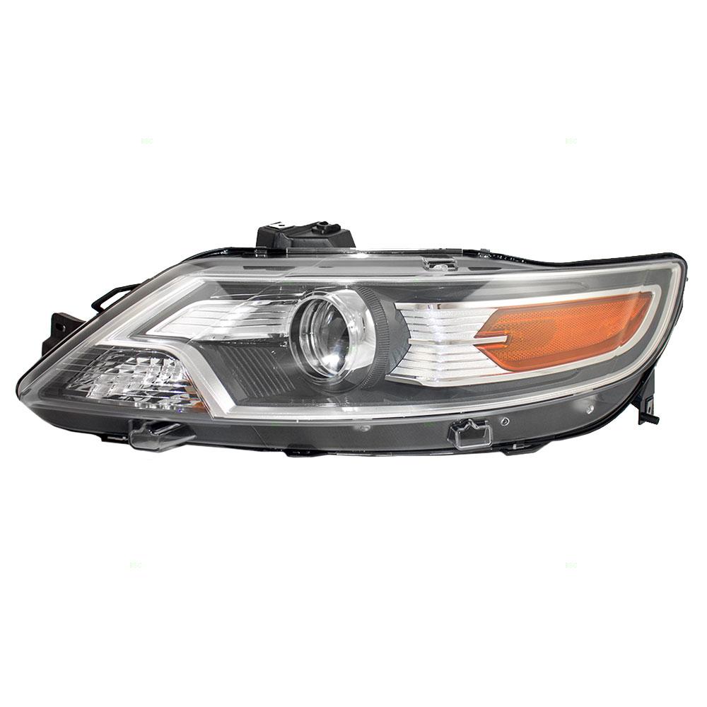 Ford Taurus Headlight Assembly : Ford taurus drivers halogen headlight assembly