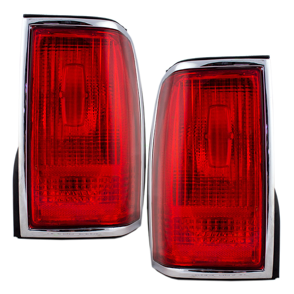 1997 Lincoln Town Car Executive Series: 90-97 Lincoln Town Car Set Of Taillights