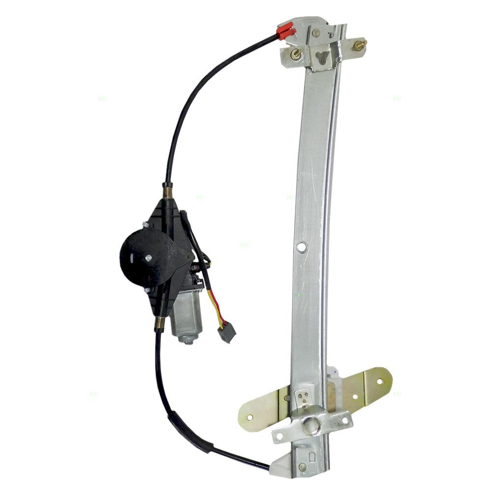 Ford mercury passengers front power window lift regulator for Window regulator motor assembly