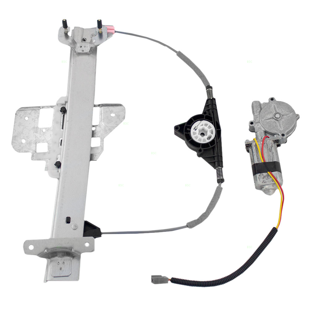 95 97 lincoln town car new drivers rear for Window regulator motor assembly
