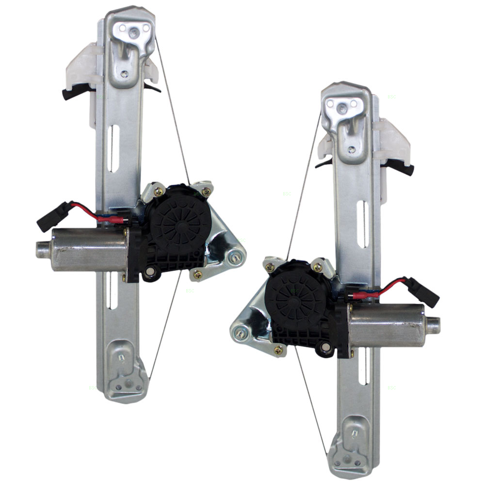 00 06 lincoln ls set of rear power for 2002 lincoln ls window regulator