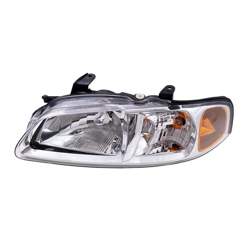 AutoandArt.com - 00-01 Nissan Sentra New Drivers Headlight ...