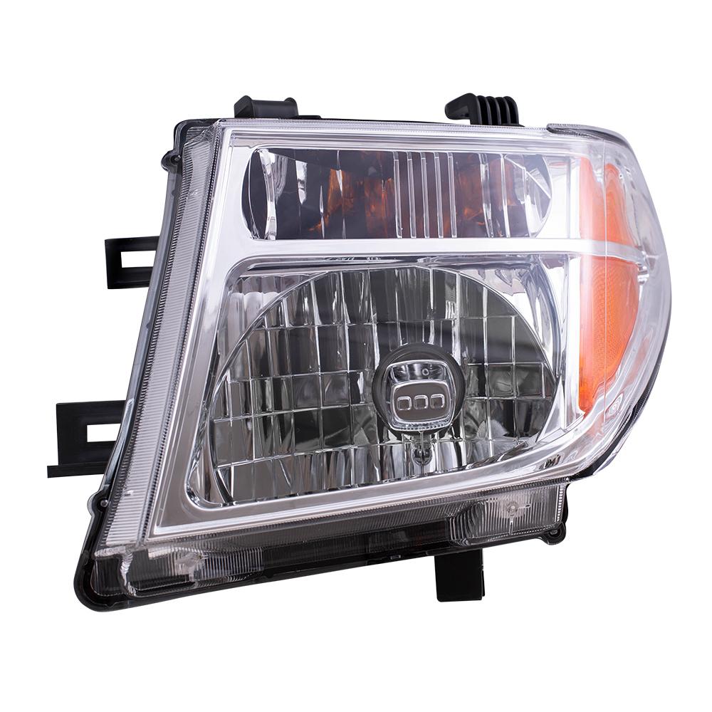 Nissan Headlamp Assembly : Everydayautoparts nissan frontier pickup truck