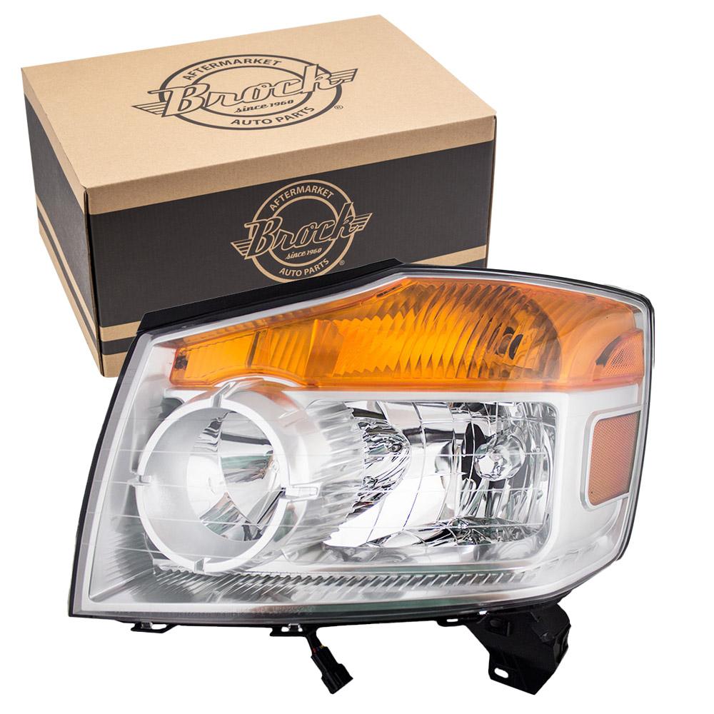 Nissan Headlamp Assembly : Autoandart nissan armada suv new drivers