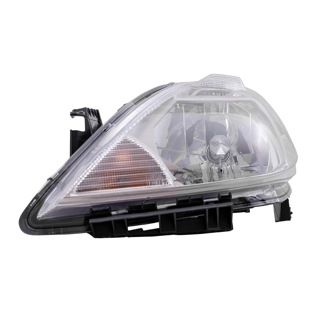 Nissan Headlamp Assembly : Autoandart nissan versa new drivers headlight