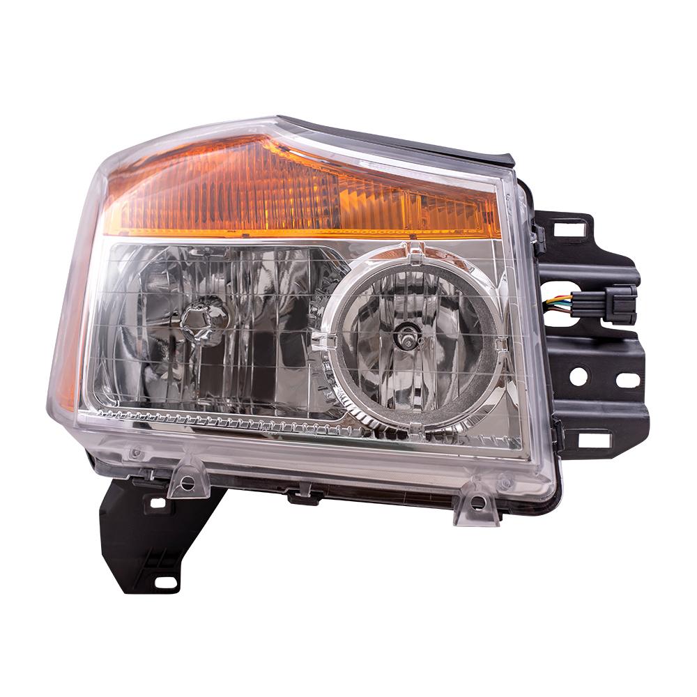 Nissan Headlamp Assembly : Everydayautoparts nissan titan pickup truck