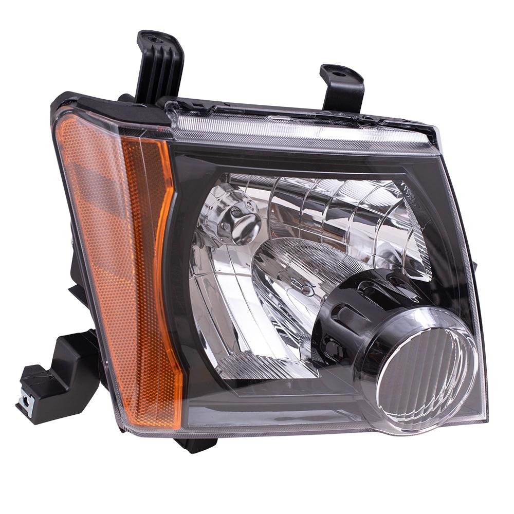 Nissan Headlamp Assembly : Everydayautoparts nissan xterra passengers