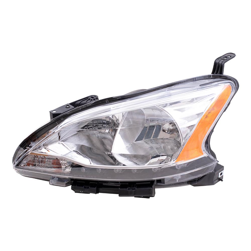 Nissan Headlamp Assembly : Autoandart nissan sentra new drivers headlight