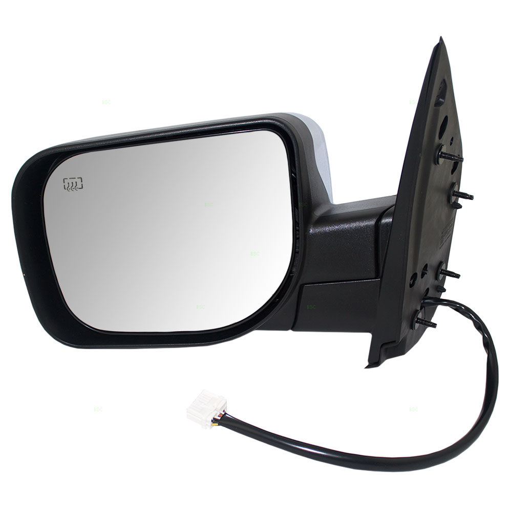 Replace 2006 Nissan Armada Sideview Mirror Glass Heated Signal