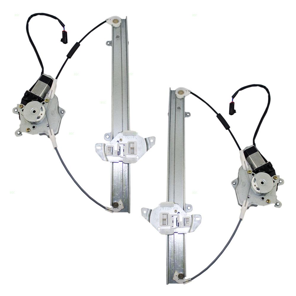 98 01 nissan altima set of front for 2001 nissan altima window regulator