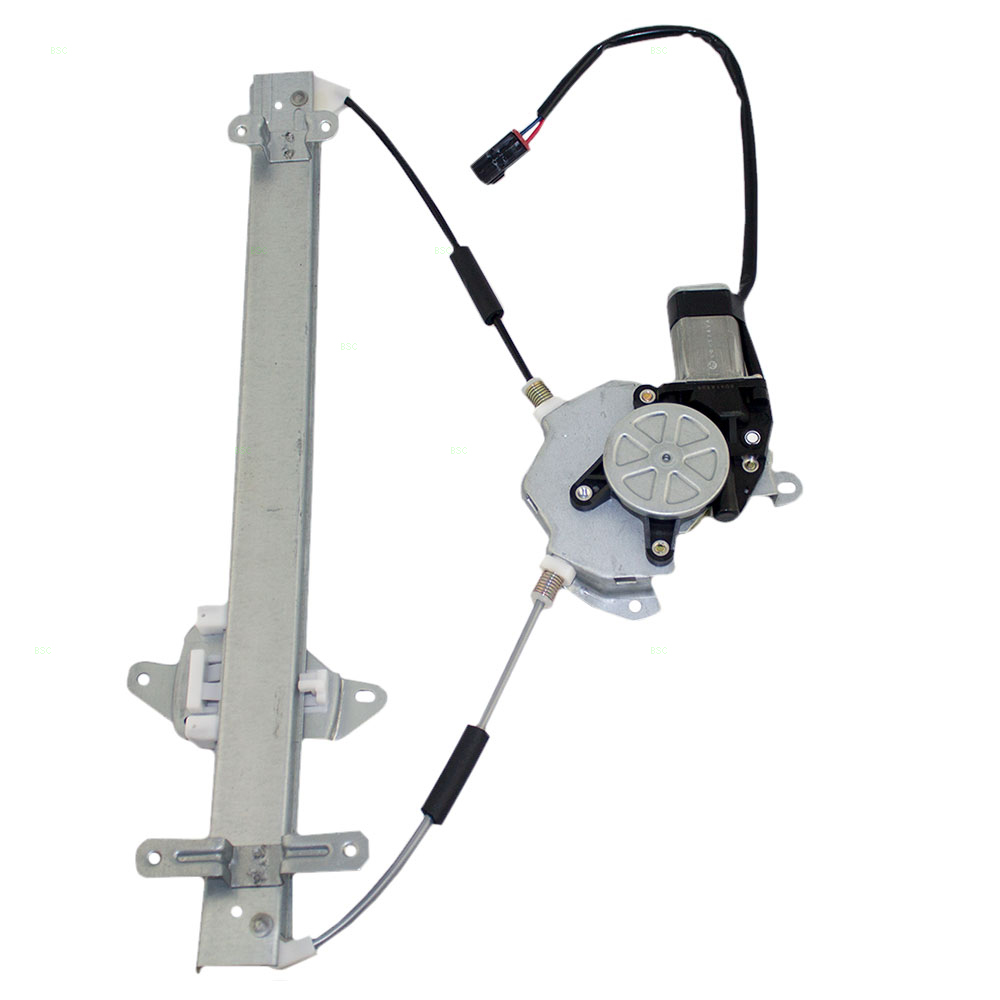95 99 nissan sentra new drivers front for Window regulator and motor assembly
