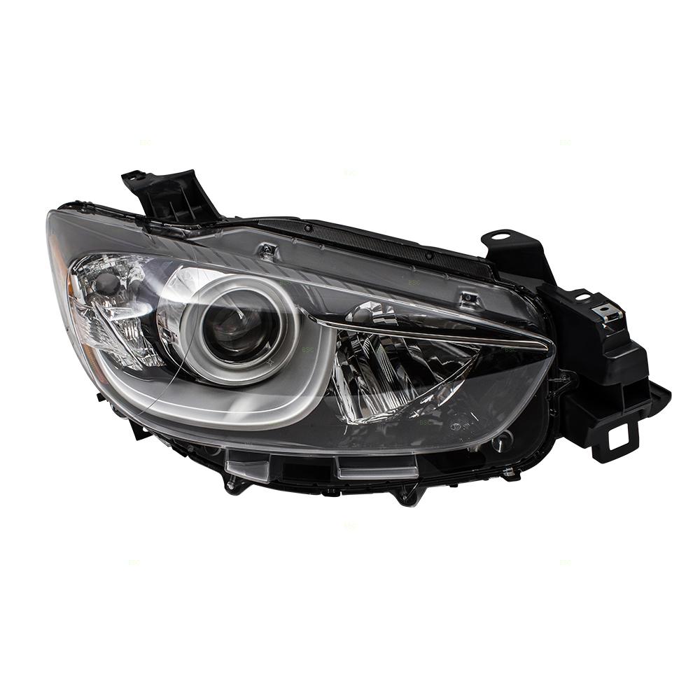 Mazda 5 Headlight Parts Diagram: 13-15 Mazda CX-5 SUV Passengers Halogen Headlight Assembly