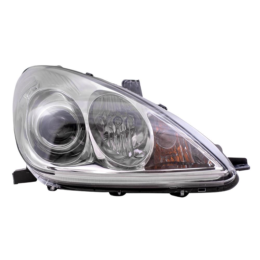Lexus Headlamp Assembly : Lexus es passengers halogen combination
