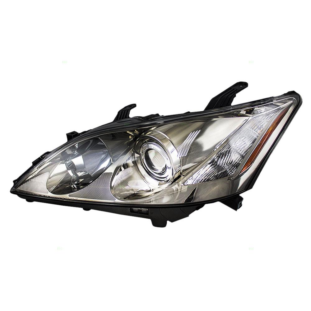 Lexus Headlamp Assembly : Lexus es drivers halogen headlight headlamp