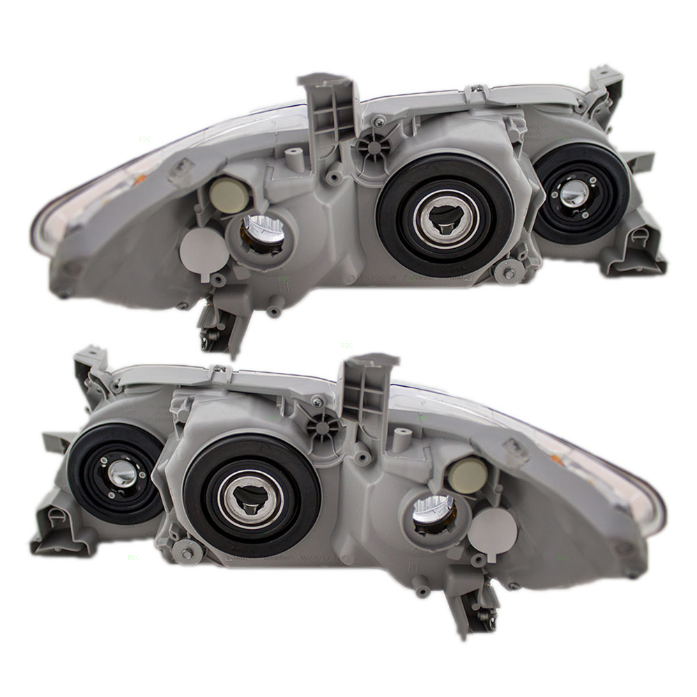 Autoandart Com 07 09 Toyota Camry Usa New Pair Set Headlight Headlamp Smoked Lens Housing Unit