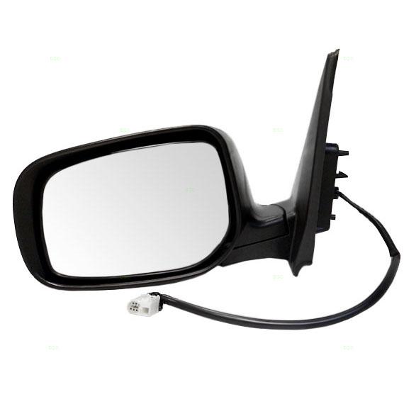 how to change mirror glass toyota corolla