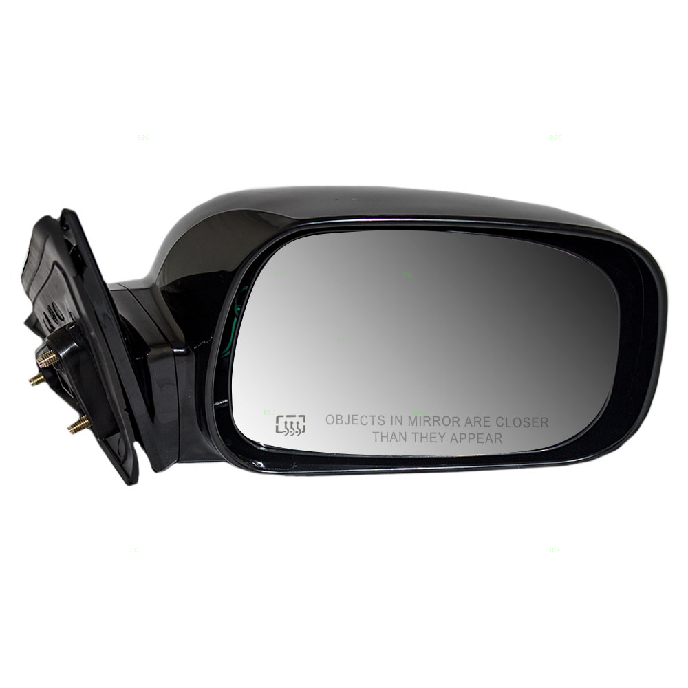 02 06 toyota camry us passengers side view power mirror heated smooth. Black Bedroom Furniture Sets. Home Design Ideas