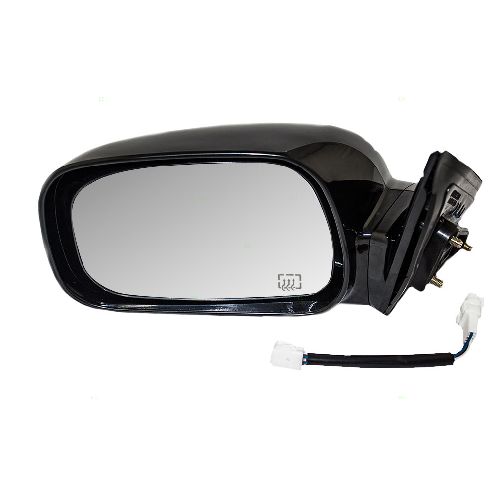 02 06 toyota camry japan usa new drivers power side view mirror glass housing. Black Bedroom Furniture Sets. Home Design Ideas
