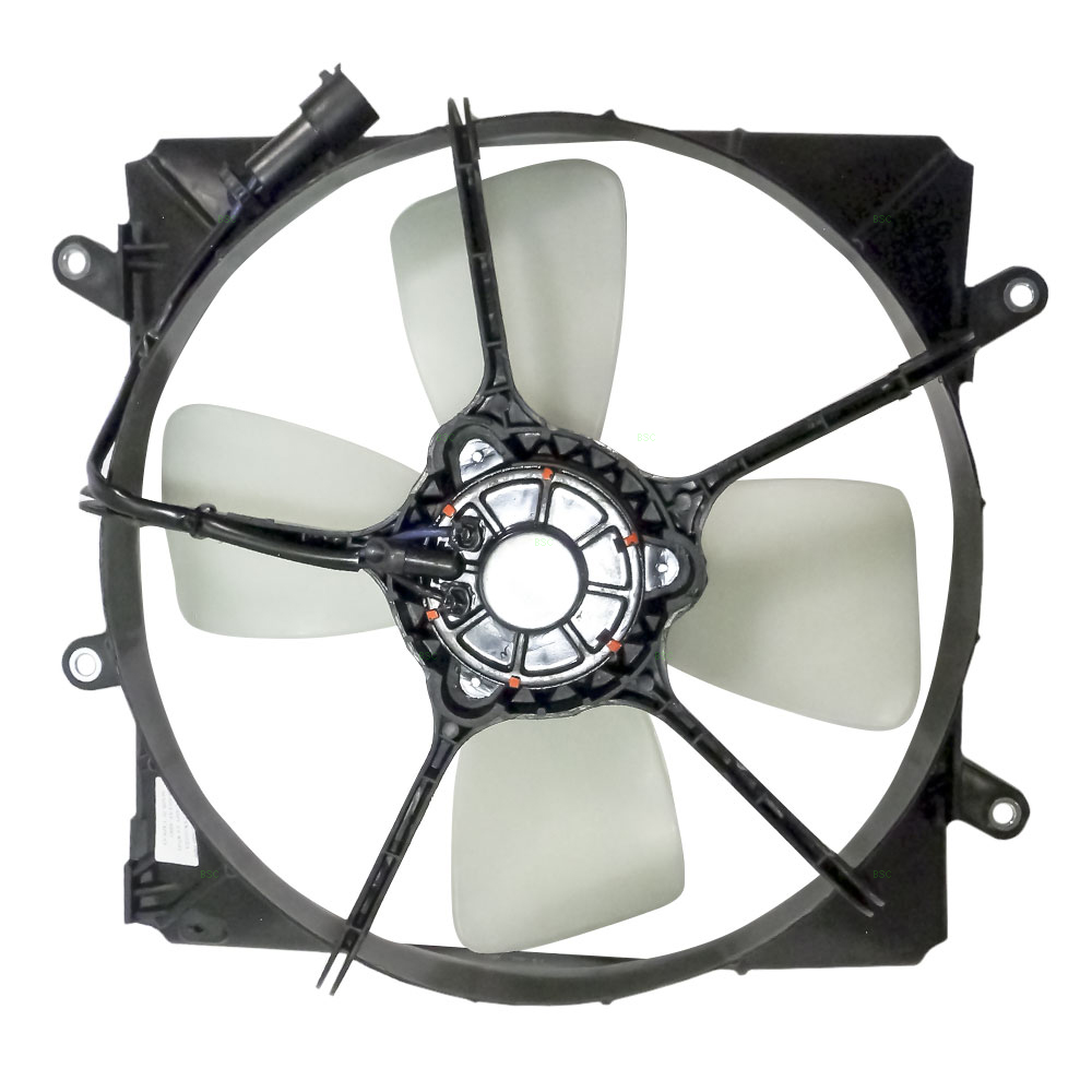 87 91 Toyota Camry 2 0l New Radiator Cooling Fan Motor Shroud Assembly