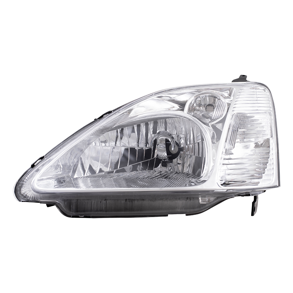 02 03 honda civic new drivers headlight. Black Bedroom Furniture Sets. Home Design Ideas
