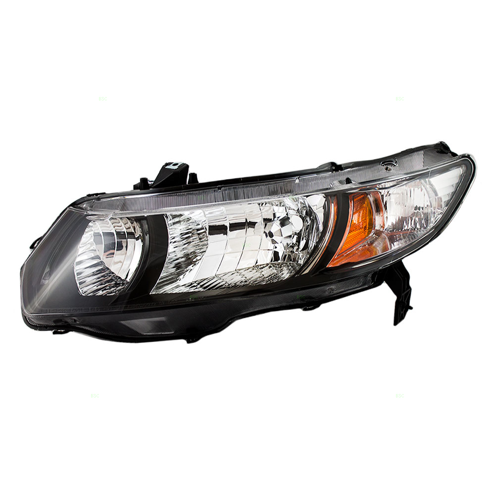 honda civic headlight replacement instructions