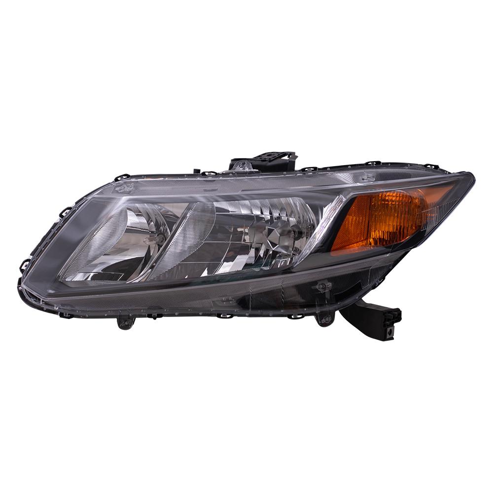 honda civic headlight replacement instructions