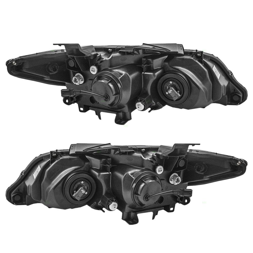 13-16 Acura RDX New Pair Set Halogen