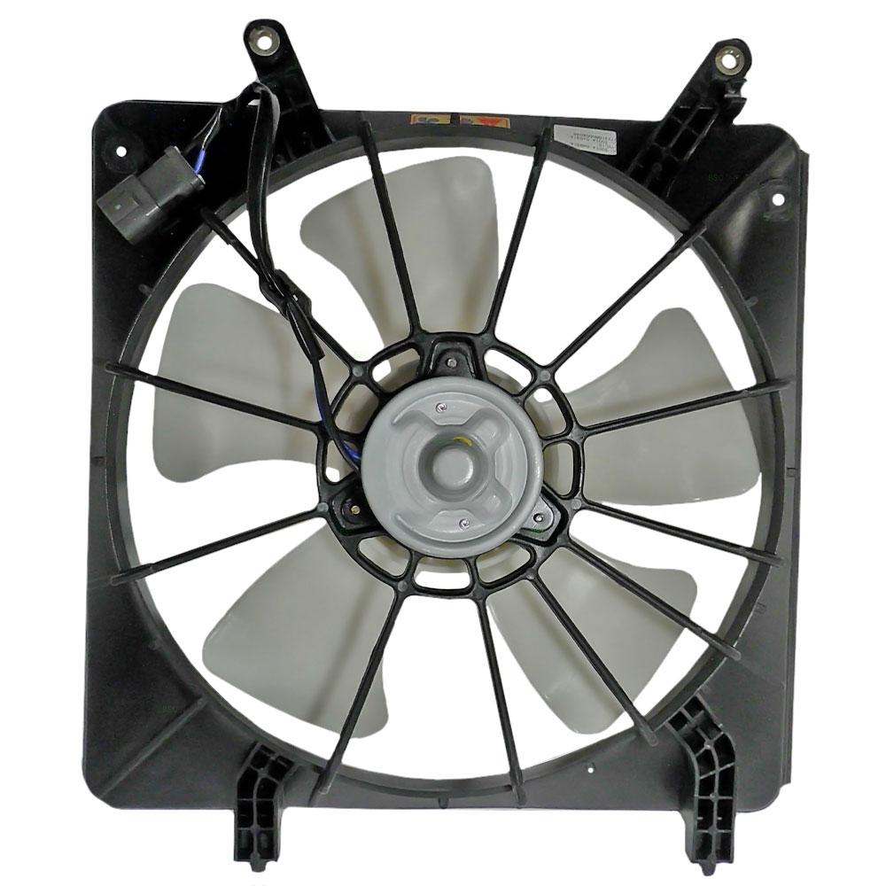 02 Cool Fan : Honda accord cyl denso type radiator cooling fan