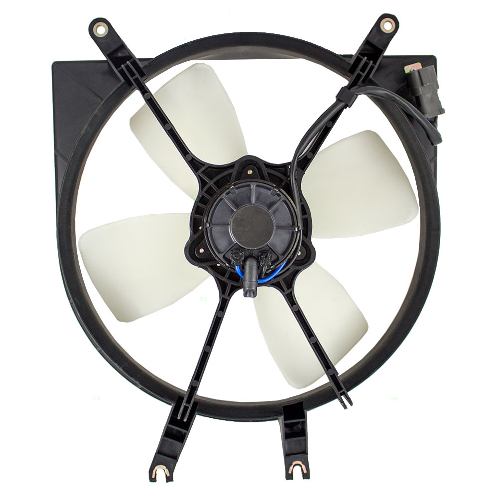 Honda Civic Del Sol Denso Type Radiator Cooling Fan Motor Assembly