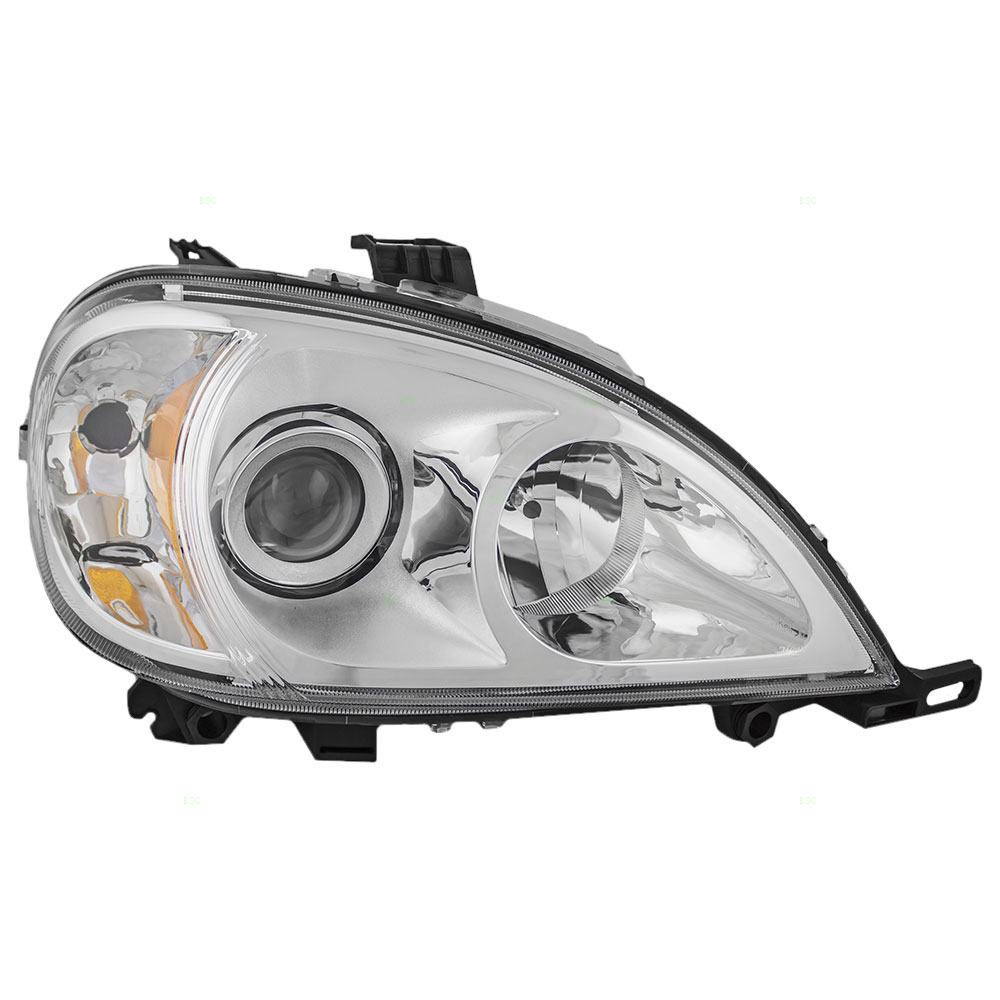 02 05 mercedes benz m class new for Mercedes benz headlight lens