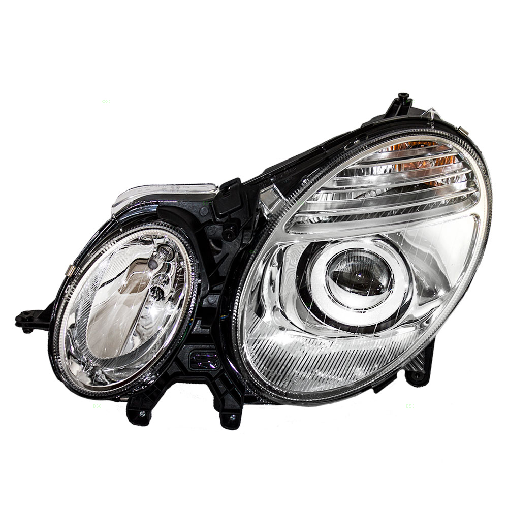07 09 mercedes benz e class new drivers for Mercedes benz headlight lens