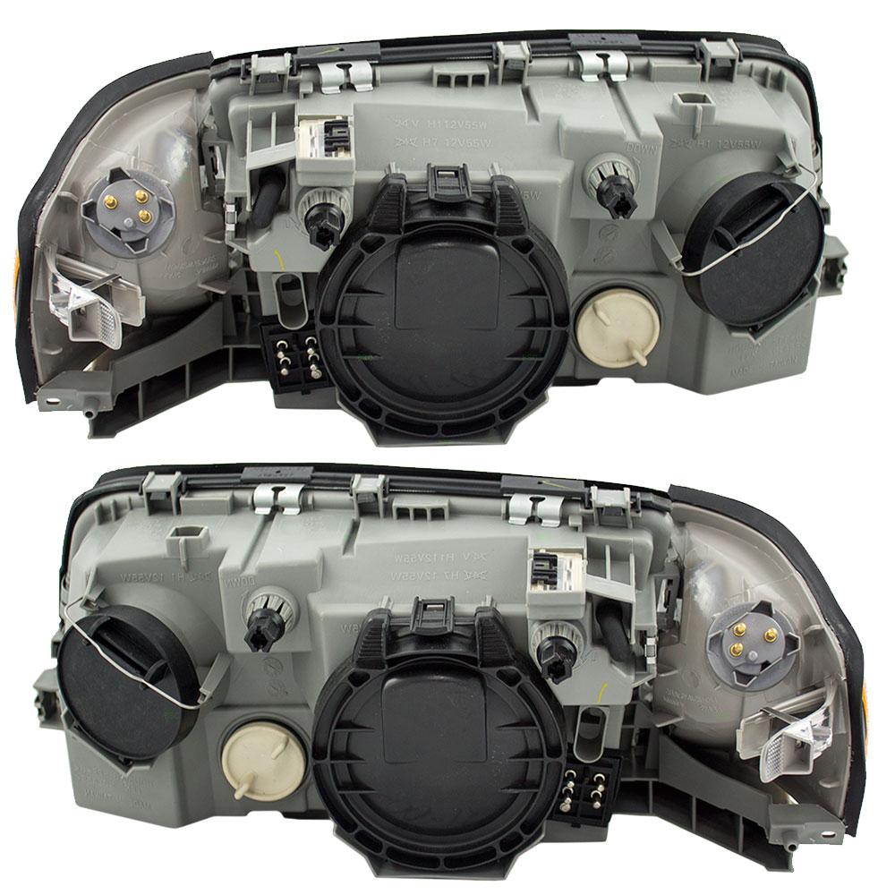 97 00 mercedes benz c class new pair set for Mercedes benz headlight assembly