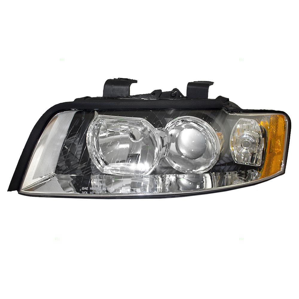 02-05 Audi A4 S4 New Drivers Headlight