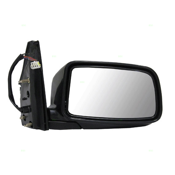 02 07 Mitsubishi Lancer Passengers Side View Power Mirror