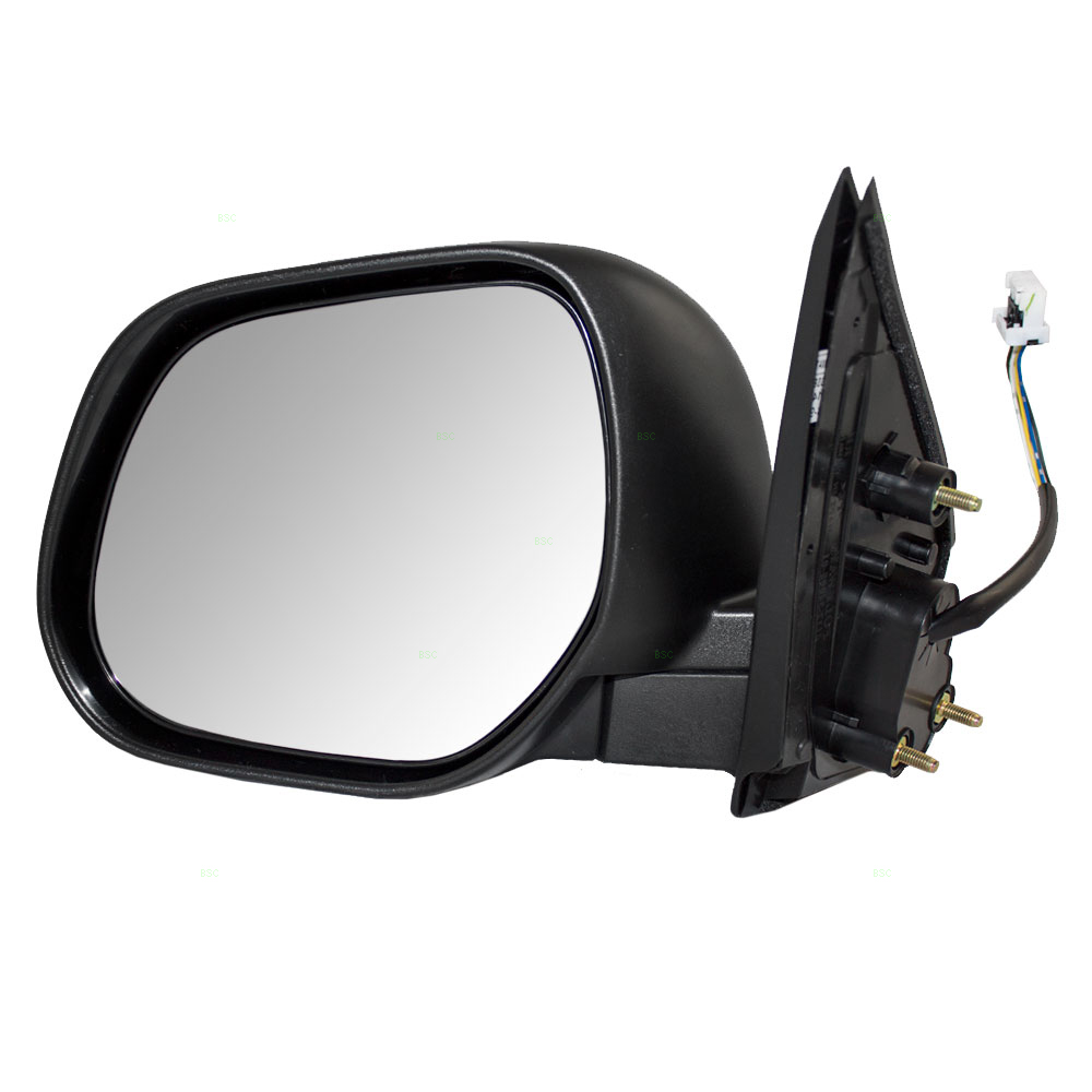 Mitsubishi Side Mirror Replacement: 10-11 Mitsubishi Outlander & 11-17 Sport Drivers Side View
