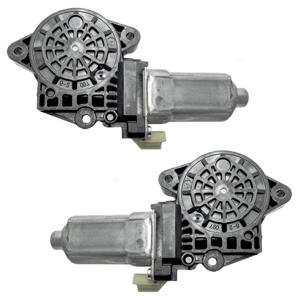 04 09 Kia Spectra New Pair Set Power Window Lift Regulator Motors Aftermarket