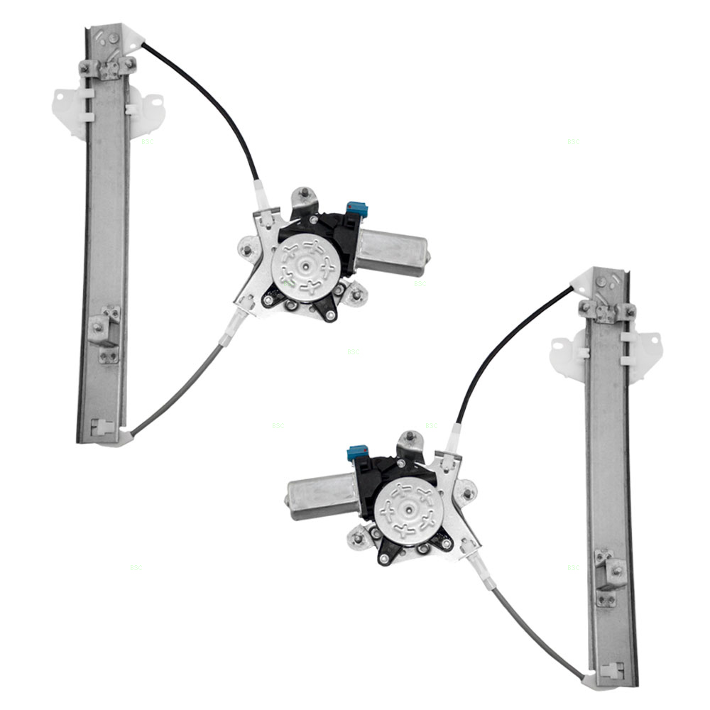 96 00 hyundai elantra set of rear for 2000 hyundai elantra window regulator