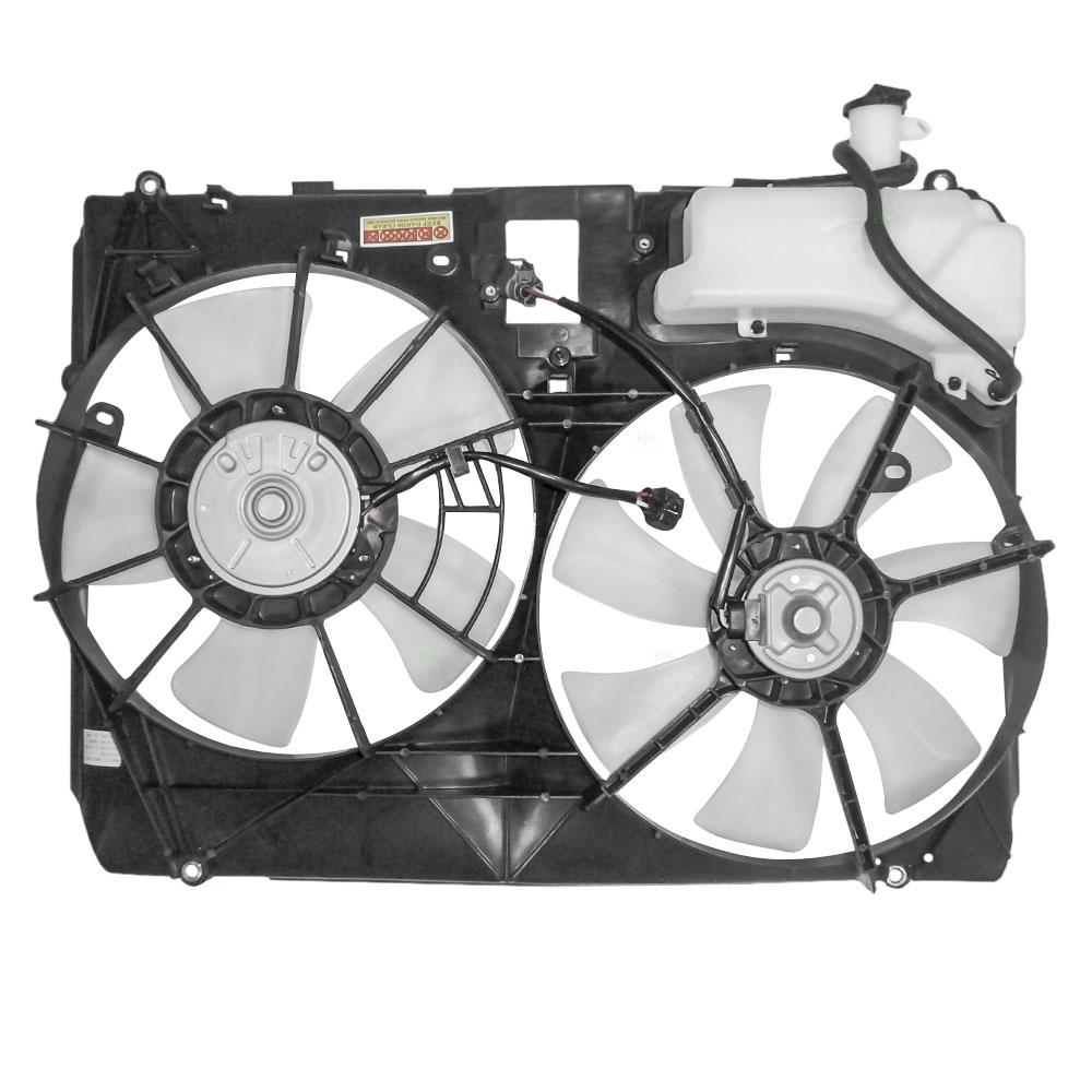 04 05 06 Lexus Rx330 Dual Cooling Fan Motor Assembly