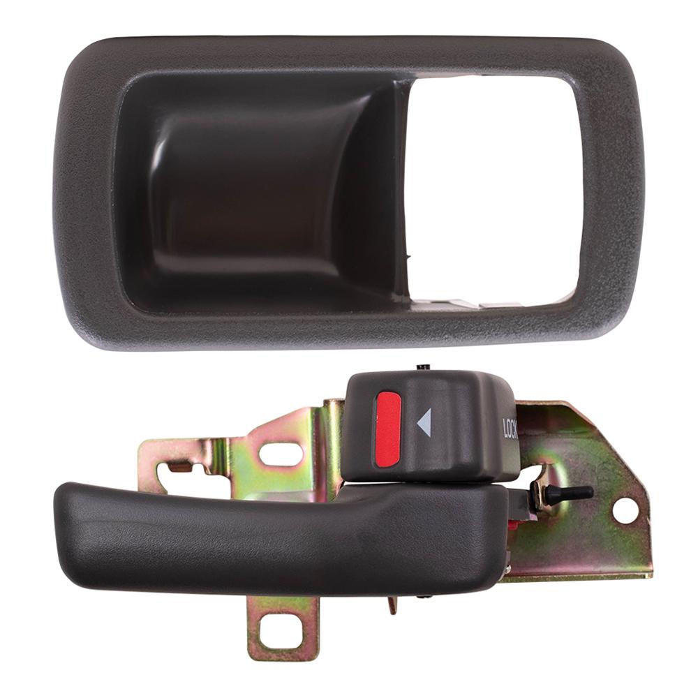 92 96 Toyota Camry Passengers Inside Gray Door Handle With Trim Bezel